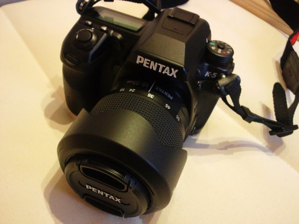 PENTAX K-5 レンズセッティング