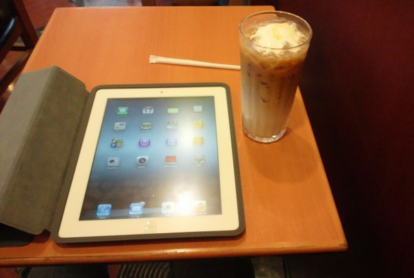 iPadでモバイル生活