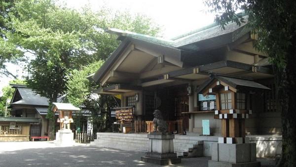 東郷神社 神殿