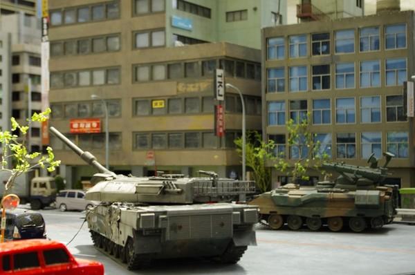 市街戦 戦車