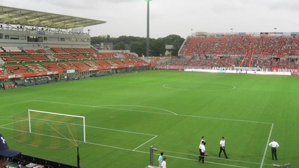 サッカー専用のスタジアム