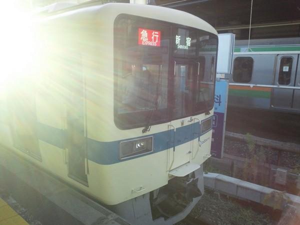 小田急、新宿行き
