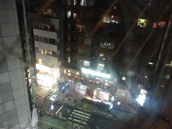 astral lampから街を見下ろす