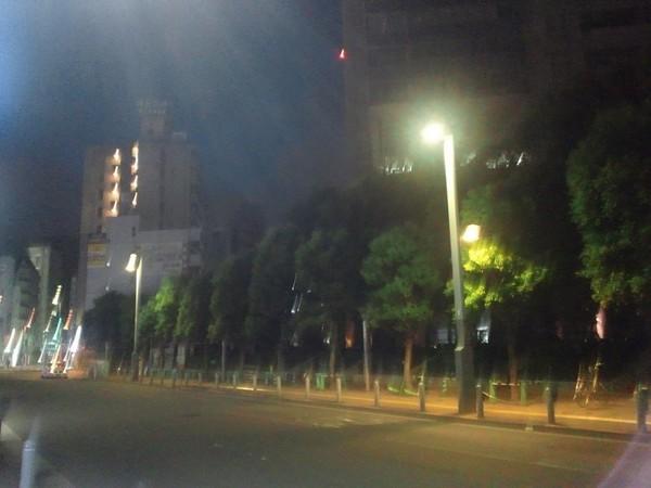 蒲田、夜明け前