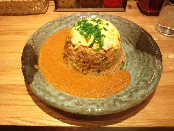 炒飯カレー