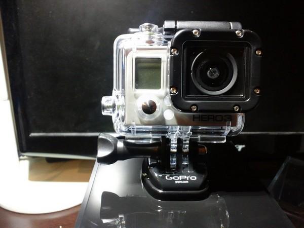 GoPro HD HERO3 シルバーエディション本体カメラ