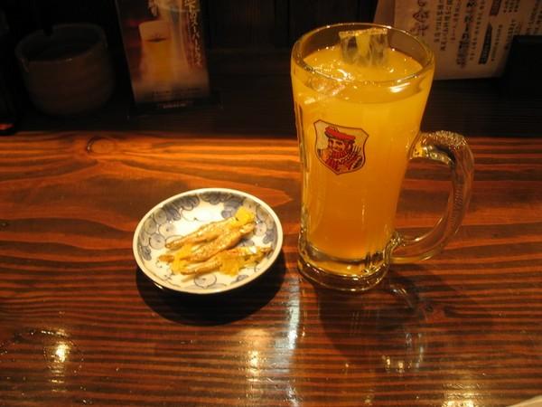 ライチ酒オレンジ