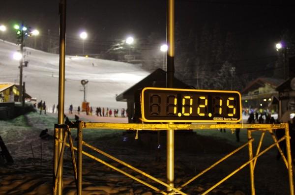 八方尾根スキー場のカウントダウンイベント