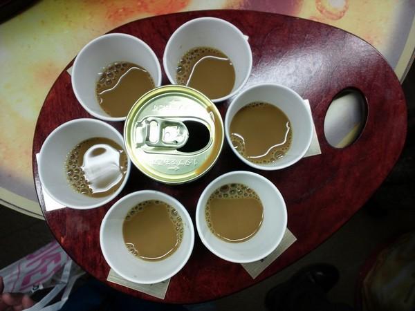 午後の紅茶のイベント。5種類のフレーバー