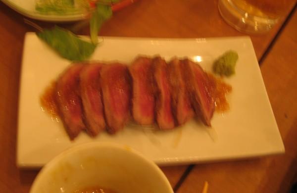 桜肉のたたき