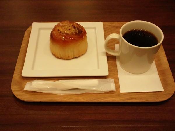 オスロコーヒーのモーニングセット