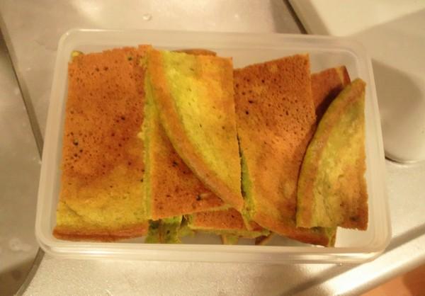お弁当のパンケーキ