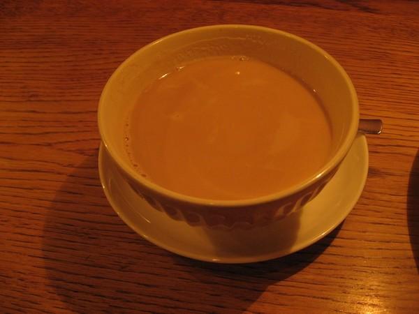 カフェマメヒコの黒豆カフェオレ