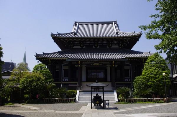 表参道にある善光寺