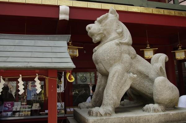 神田明神の狛犬