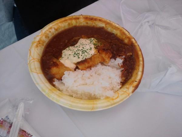 チキン南蛮カレー