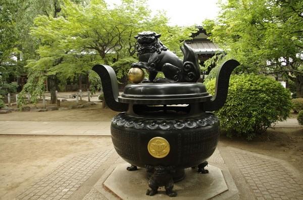 豪徳寺の香炉