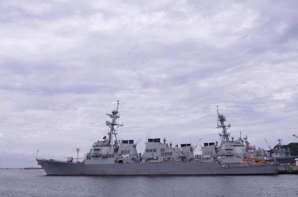 アーレイ・バーク級ミサイル駆逐艦。62フィッツジェラルド