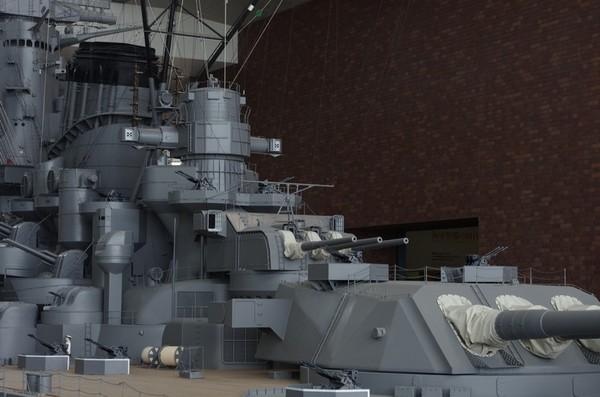 第三主砲塔と第二副砲