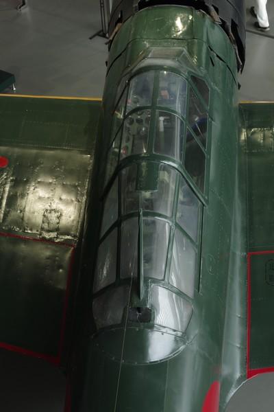 零式艦上戦闘機六二型のコクピット