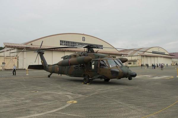 UH-60JAブラックホーク