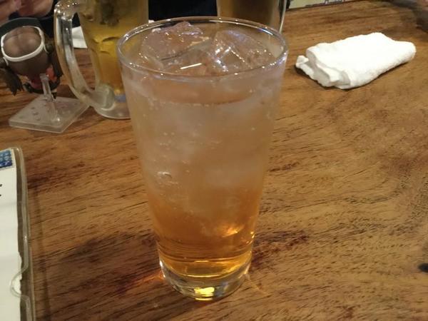 梅酒ソーダ割