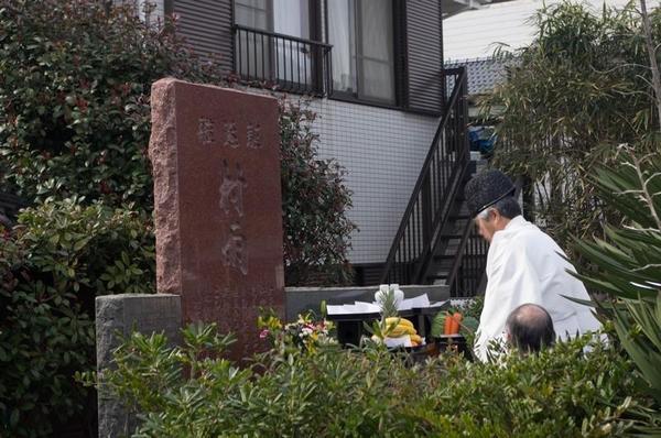 2017年 駆逐艦 村雨 慰霊祭にて