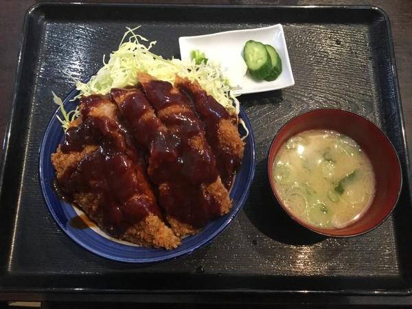 江川食堂のソースカツ丼