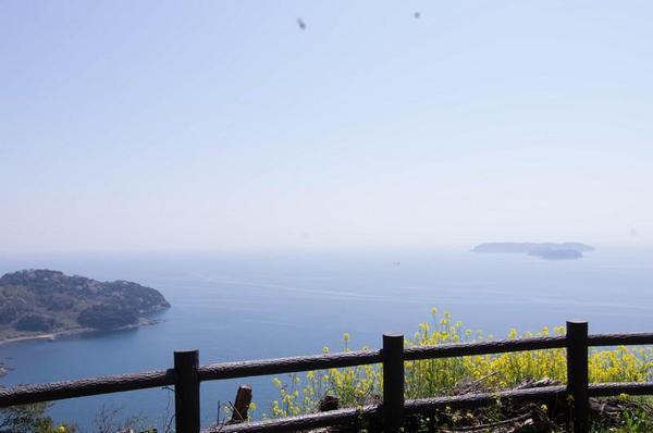 見張所跡から瀬戸内海を望む