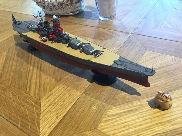 武蔵の模型