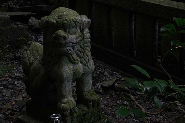 賢見神社の狛犬