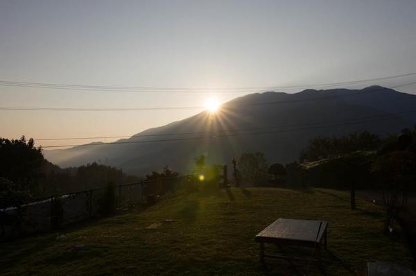 農家民宿 ゆずの里いづみ 朝日を望む