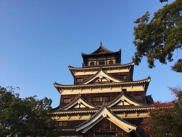広島城天守