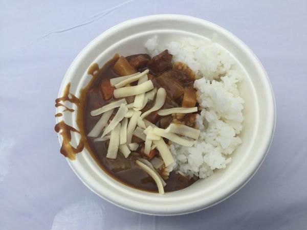 レストランTUNAMIの「護衛艦てるづき(チーズチキン)カレー