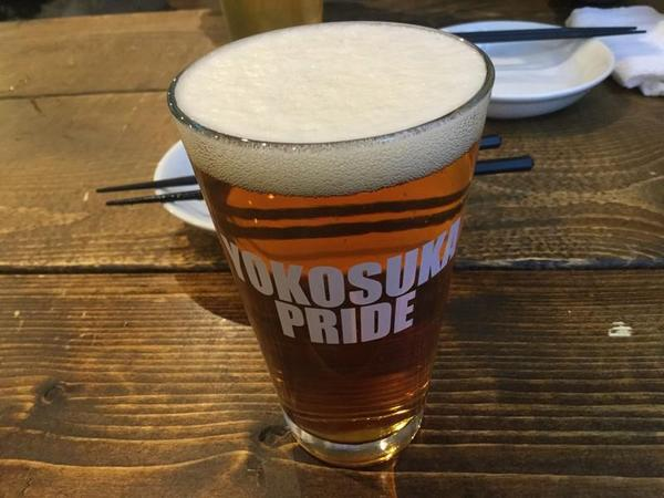 横須賀ビールで飲みなおし