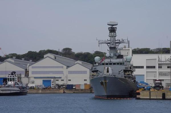 イギリス海軍フリゲート艦「サザーランド」