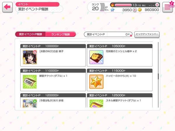 はじめてのバンドリゲーム内イベント参戦~燐子ちゃんをお迎えせよ~
