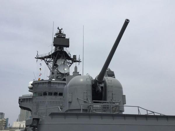 73式54口径5インチ単装速射砲