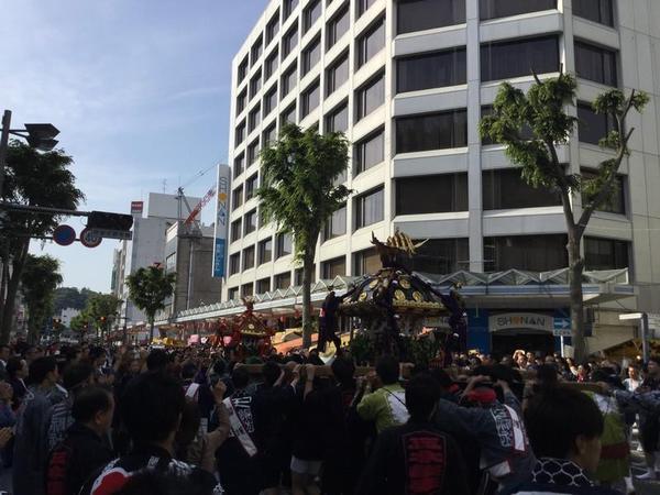 横須賀のお祭り