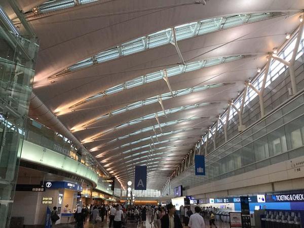 ごむをじさんの長崎・佐世保遠征 羽田空港