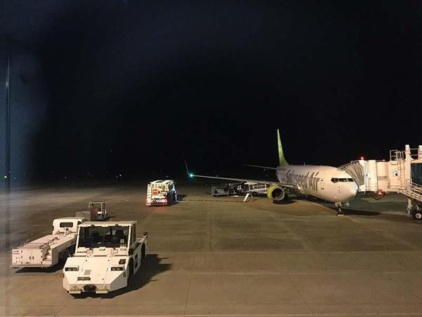ごむをじさんの長崎・佐世保遠征 長崎空港到着