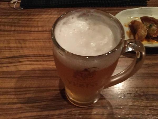 ビアカクテルのピーチビール