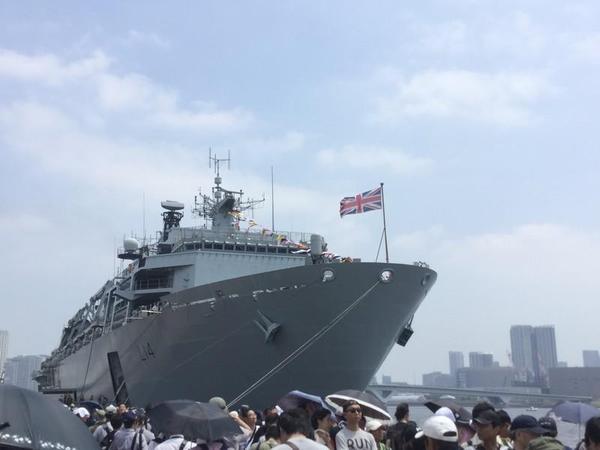 アルビオン級揚陸艦 L14 HMS Albion