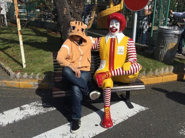 横須賀ベースに来た芽依ちゃん(大嘘)
