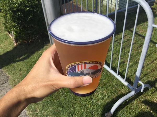 昼間から飲むビールはうまい