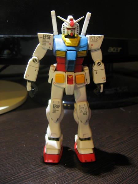 GUNDAM FIX FIGURATION #0004  RX-GA Gアーマー