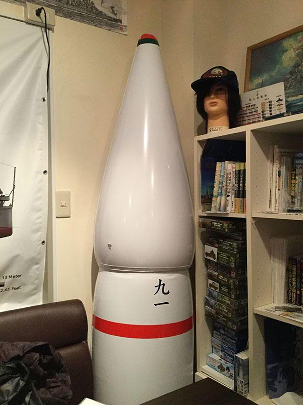 九一式徹甲弾(ビニール)