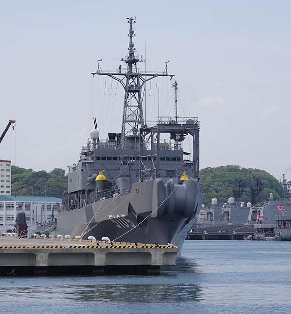 海洋観測艦 AGS-5105にちなん